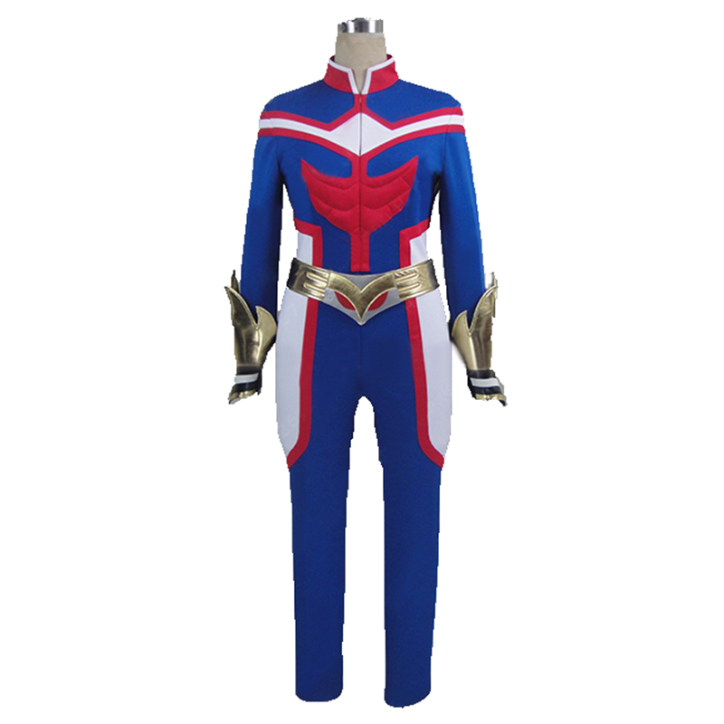 All Might Battle Suit From My Hero Academia cosplay costume with shoe ccover