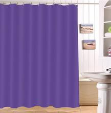 LB 180180 Orange Shower Curtains Bathroom Curtain Waterproof Polyester Screens Fabric For Woman Girl