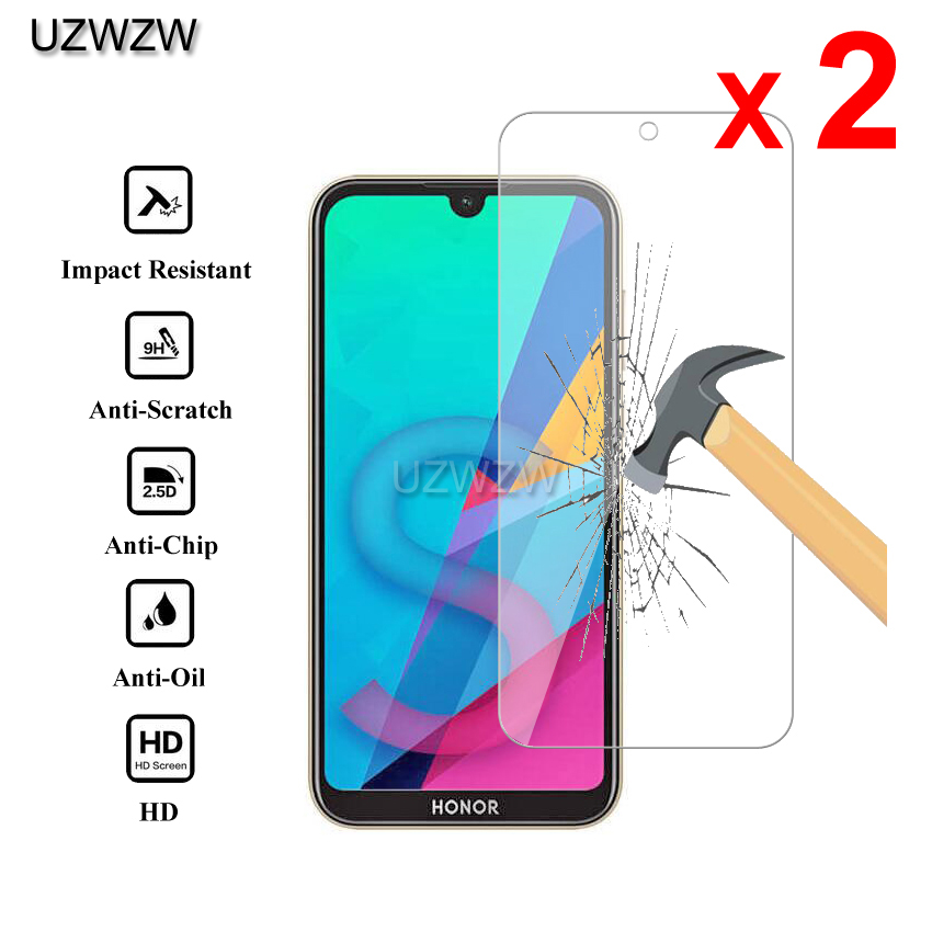 2pcs For Huawei Honor 8s Premium 2.5D 0.26mm Tempered Glass Screen Protector For Huawei Honor 8s Protective Glass Film