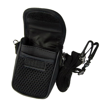 3 Size Camera Bag Case Compact Camera Case Universal Soft Bag Pouch + Strap Black For Digital Cameras 4