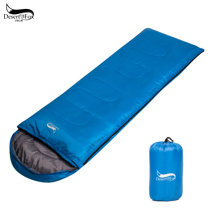 DesertFox 2017 New spring andautumn single can be spliced sleeping bag adult outdoor ultra-light lunch camp sleeping bag nh outdoor camping indoor lunch adult sleeping bags of ultra light warm seasons can be spliced herringbone cotton bag