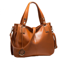 2019 Good Quality Large PU Leather Women Trend Handbag Retro Fashion Female shopping bag Totes Shoulder Messenger Bag for ladies fashion new large and cheap women bag high quality pu leather female shoulder bag vintage brown solid handbag for shopping daily