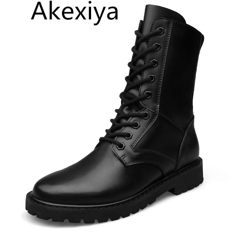 All Leather Black Postal Shoe