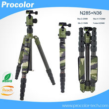 Professional Photography Carbon Fiber camera Tripod monopod with Detachable Ball head Kit For Canon Nikon Sony DSLR Camera stand