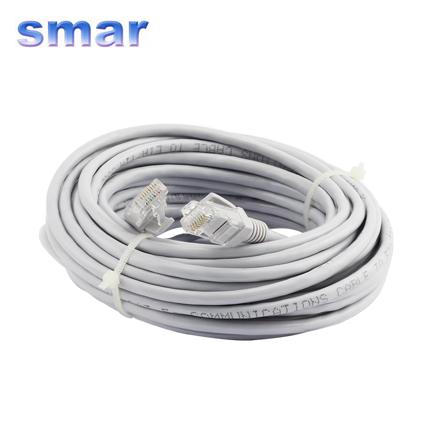 Internet Network  LAN 5M 10M 15M 20M RJ45 Ethernet Cable Cord For CAT5E IP Camera Computer Laptop