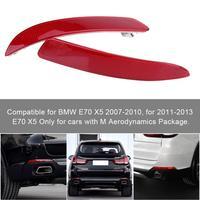 For BMW E70 X5 2007 2013 63217158949 63217158950 Left Right Rear Bumper Reflector