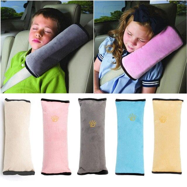 Kids Car Seat Belt Plush Pillow Cushion