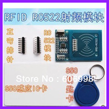 5pcs/lot RFID RC522 module Kits S50 13.56 Mhz 424kbit/s  Write & Read for arduino uno 2560  Free Shipping