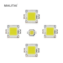 1Pcs 100% Epistar SMD 10W 20W 30W 50W 100W High Power Integrated Chip LED lamp COB Bulb For DIY Floodlight Spotlight