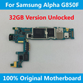EU Version For Samsung Galaxy Alpha G850F Motherboard 32GB Original Mainboard Unlocked logic board Full Chips Android OS