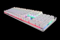 TEAMWOLF ZHUQUE 87/104 Anti ghosting Luminous Red Brown Switch LED Backlit wired Gaming Mechanical Keyboard Russian stickers