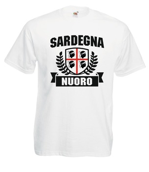 2019 New High Quality Tee Shirt T-Shirt Flag Sardinia Nuoro City Sarda Summer Cotton T-shirt image