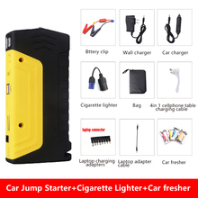 2018 Mini Car Jump Starter Power Bank 600A Portable Car Battery Booster Charger 12V Starting Device Petrol Diesel Car Starter
