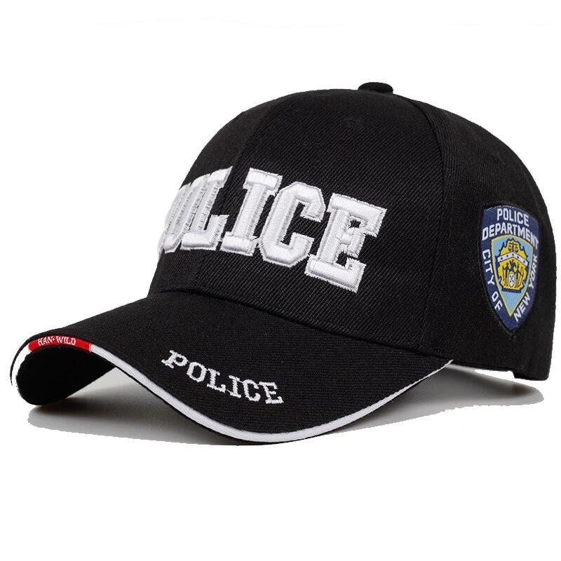 New POLICE Mens Tactical Cap SWAT Baseball Cap Men Gorras Para Hombre Women Snapback Bone Masculino Army Cap Letter