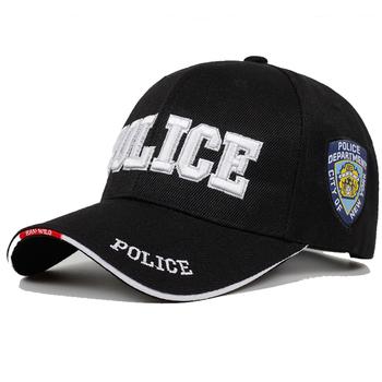 Nowa policja mężczyzna czapka taktyczna SWAT czapka z daszkiem mężczyźni Gorras Para Hombre kobiety Snapback Bone Masculino czapka wojskowa list tanie i dobre opinie Dla dorosłych COTTON Unisex Na co dzień Regulowany Czapki z daszkiem Jeden rozmiar