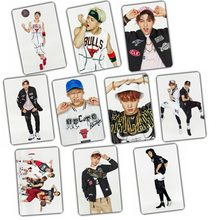 Kpop Album GOT7 2016 Top star FLY crystal sticker set 10 k-pop has 7 Photos poster birthday holiday gift prizes welfare Collect(China)