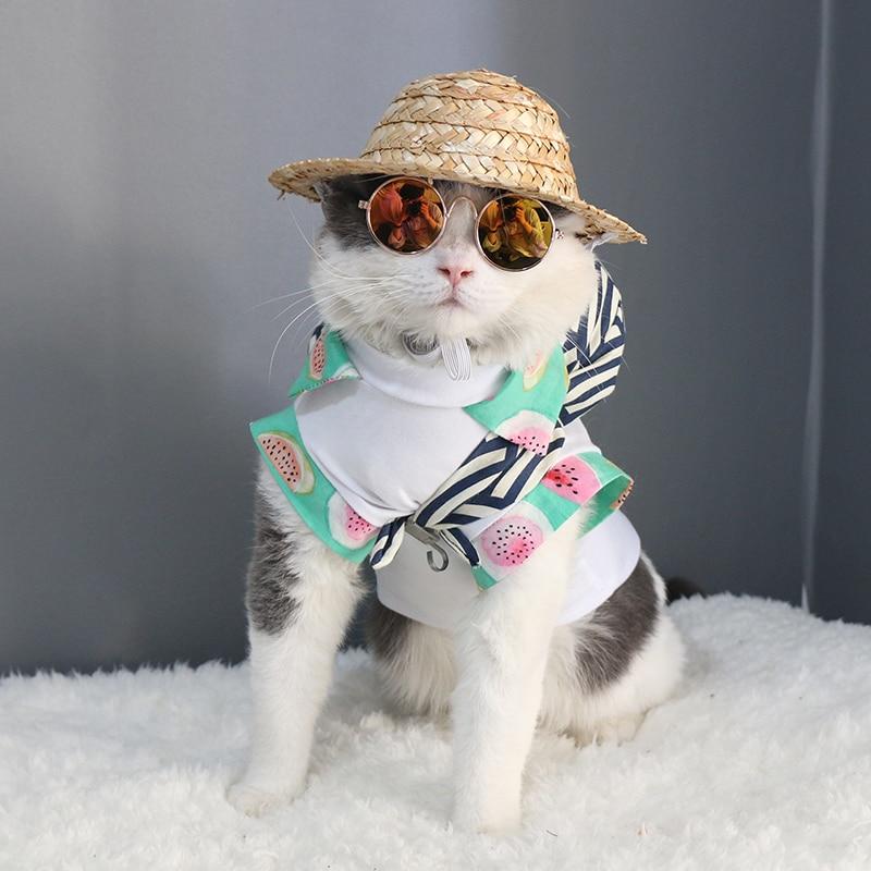 猫の目の摩耗ペットサングラスリトル犬メガネ猫メガネ写真小道具犬猫アクセサリーペット用品ペット製品