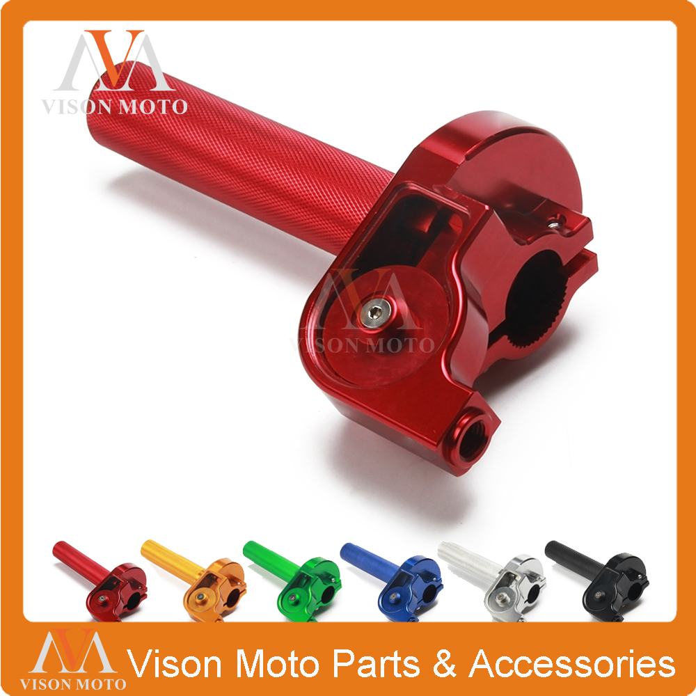 Motorcycle CNC Twister Throttle Assembly For  HONDA CBR600 CB400 Red Good Quality Motocross Pit Bike 65mm universal throttle body cnc t6 aluminum red 40001