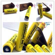 4 pçs/lote Protegido 100% Recarregável Li-lon Bateria Original 18650 Ncr18650b 3200mah Com Pcb 3.7v Lanterna