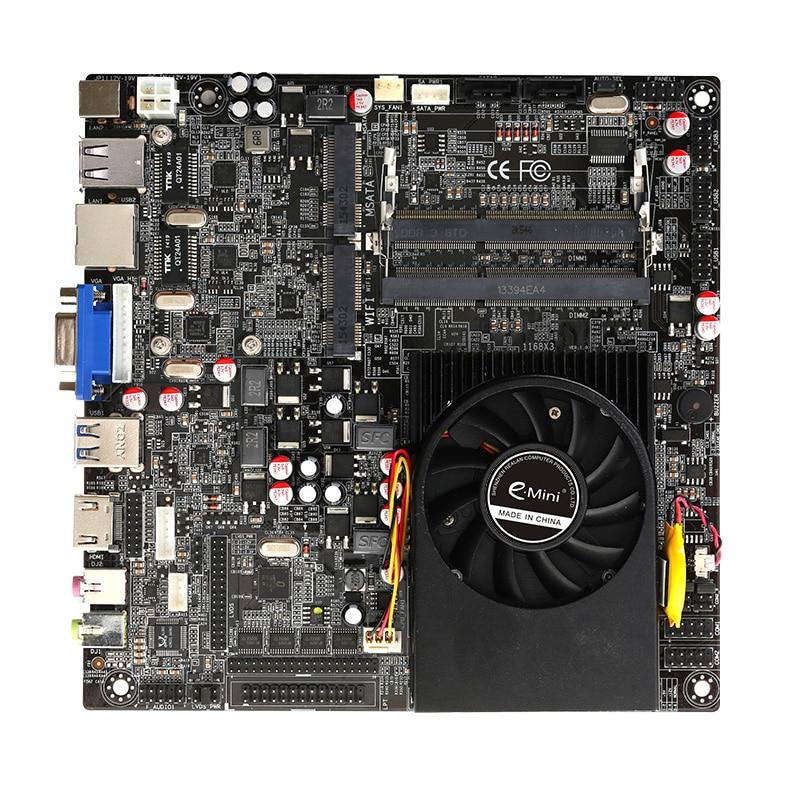 все цены на  Intel Core i5 5200U Processor Mini Itx Motherboard Supported Dual Channel DDR3L With HDMI And VGA  онлайн