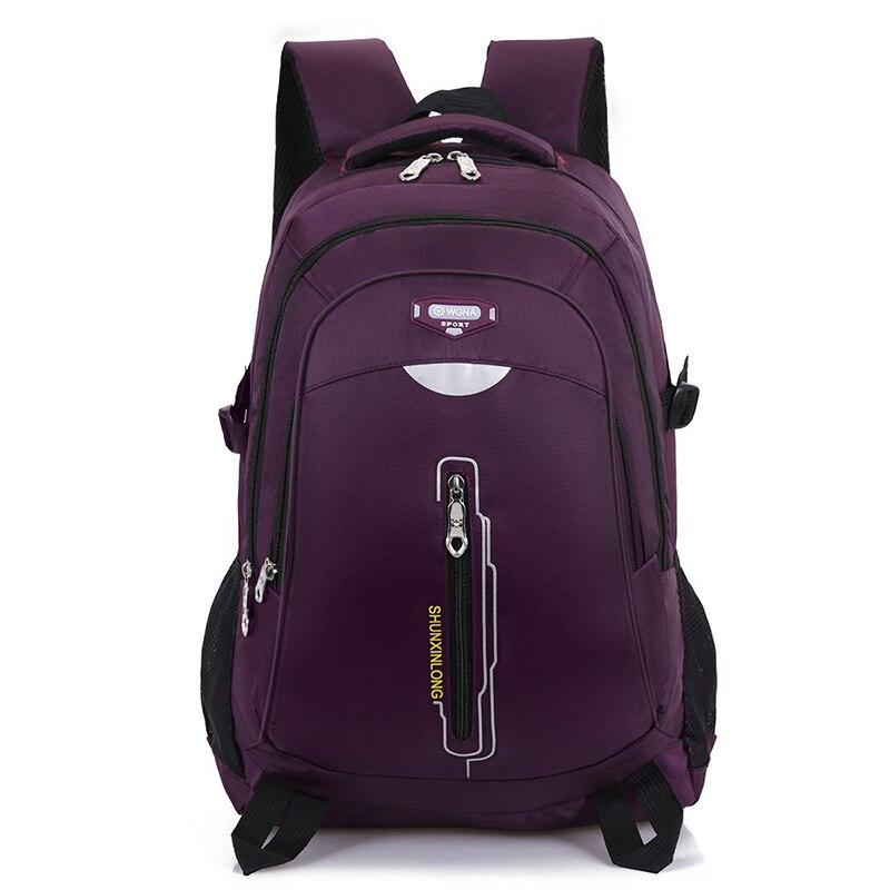 Multifunction Laptop Backpack 15.6 Inch School Backpack Oxford Business Bag For Men Women Water-Resistant Travel Rucksack Black