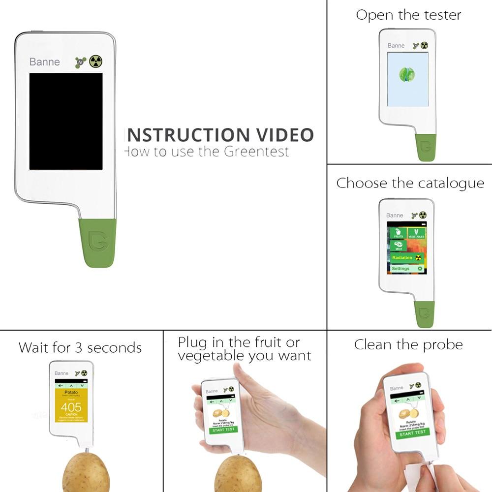 Food Tester Geiger Counter Radiation