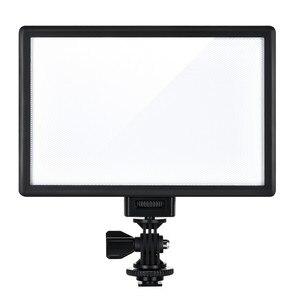 Image 2 - Viltrox L116T Super Slim Studio LED Video Light 3300K 5600K Bi color LCD Display CRI95+ for DSRL Camera Camcorder +2M AC Adapter