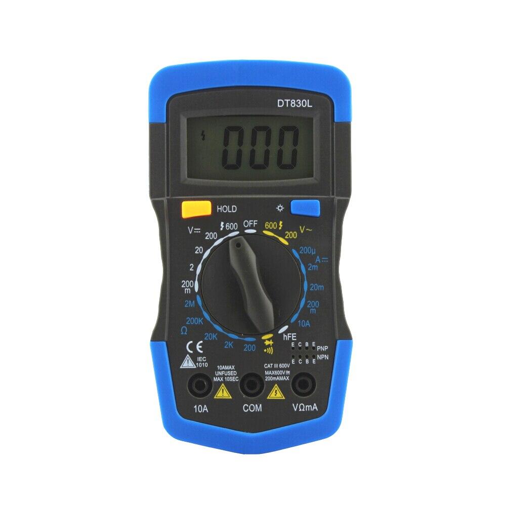 ANENG DT830L digital multimeter LCD Digital Multimeter DC AC Voltage Diode Freguency Multitester