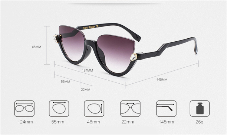 e38d9dd13c Lenses Optical Attribute  Mirror Lens Height  50mm. Lens Width  Largeur  lentille 55mm. Department Name  Adult Style  Semi-Rimless Lenses Material   Acrylic