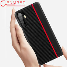 Huawei P30 Pro Case Huawei P30 P20 Pro Carbon Fiber Leather Full Back Cover Huawei P20 Lite Matte Shockproof Phone Case Cover(China)