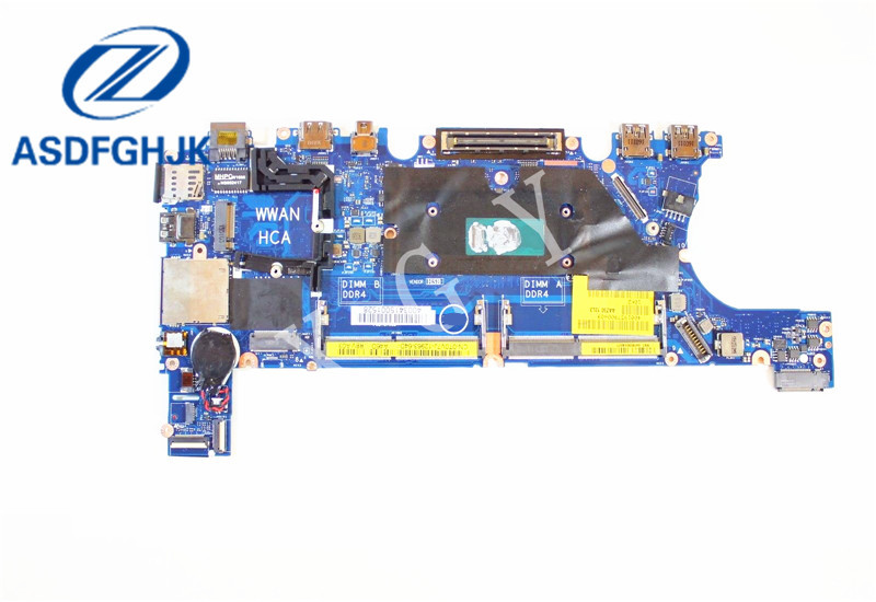 Laptop Motherboard LA-C451P for Dell for Latitude E7270 Motherboard T0V7J 0T0V7J CN-0T0V7J i7-6600U CPU 100% Test okLaptop Motherboard LA-C451P for Dell for Latitude E7270 Motherboard T0V7J 0T0V7J CN-0T0V7J i7-6600U CPU 100% Test ok