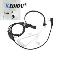 Kebidu גרון מיקרופון גרון רטט אוזניות אוזניות אוזניות לbaofeng UV 5R UV B5 UV B6 BF 888S TG UV2 ווקי טוקי