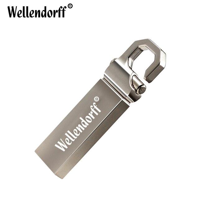 Hot colourful 32GB USB Flash Drive 64GB 16GB Pen Drive memoria usb stick 8GB 4GB Pendrive Stainless Steel USB 2.0 Flash Drive