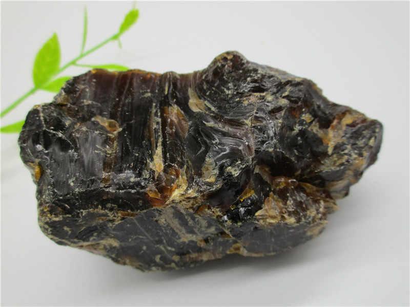 Alami Darah Merah Amber Mineral Batu Perot Darah Crystal Rock Spesimen Mellite Noneystone Pengolahan Bahan Baku