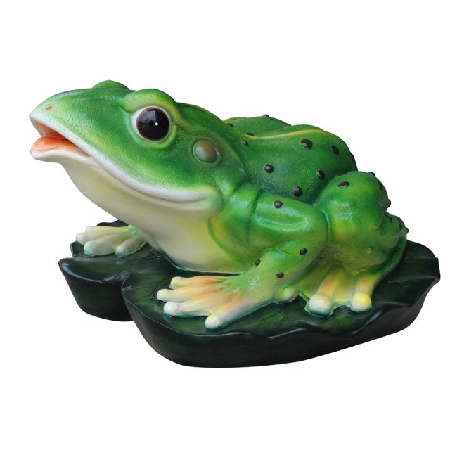 Resin Spray Simulation Frog Ornaments Garden Outdoor Pond Grass Landscape  Sculpture Decorative Animal Crafts