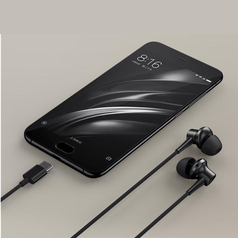 Originale Xiaomi ANC Tipo C Portable Attivo Cancellazione del Rumore Mic A Distanza USB C Hybrid Uso per Xiaomi Mi5 Note2 Mi5s Mi6 Nota3 - 6