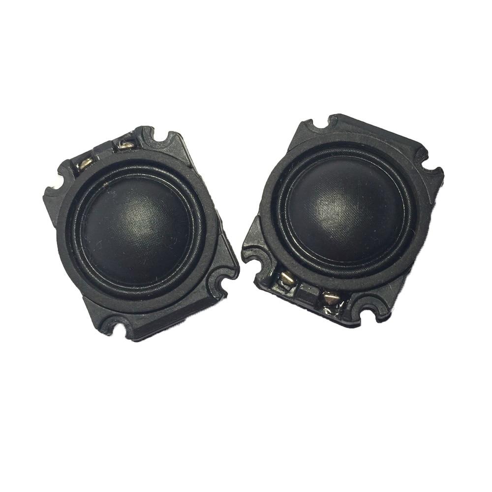 "2pcs 1/""inch Tweeter Speaker Loudspeaker 8ohm 10W  With capacitance Audio part"