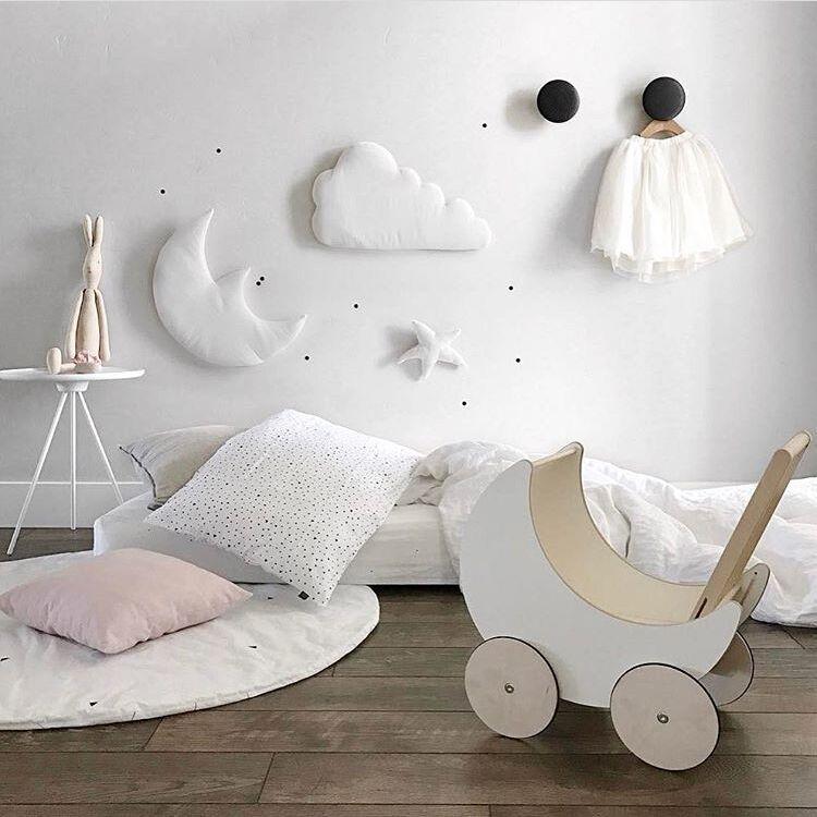 3pcs stjerne månen sky Vegg Hengende Dukke Baby Komfortabel Plysj - Dukker og utstoppede leker - Bilde 2