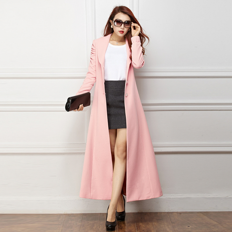 Collection Long Pink Coat Pictures - Reikian
