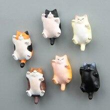 FOURETAW Cute Japanese Style World Famous Cats Cartoon Kids Education Fridge Magnets Souvenir Blackboard Magnetic Stickers