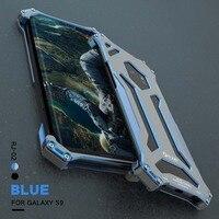 R JUST Original Phone Case Metal Aluminum Luxury Three Defenses Case Full Protection Cover For Samsung