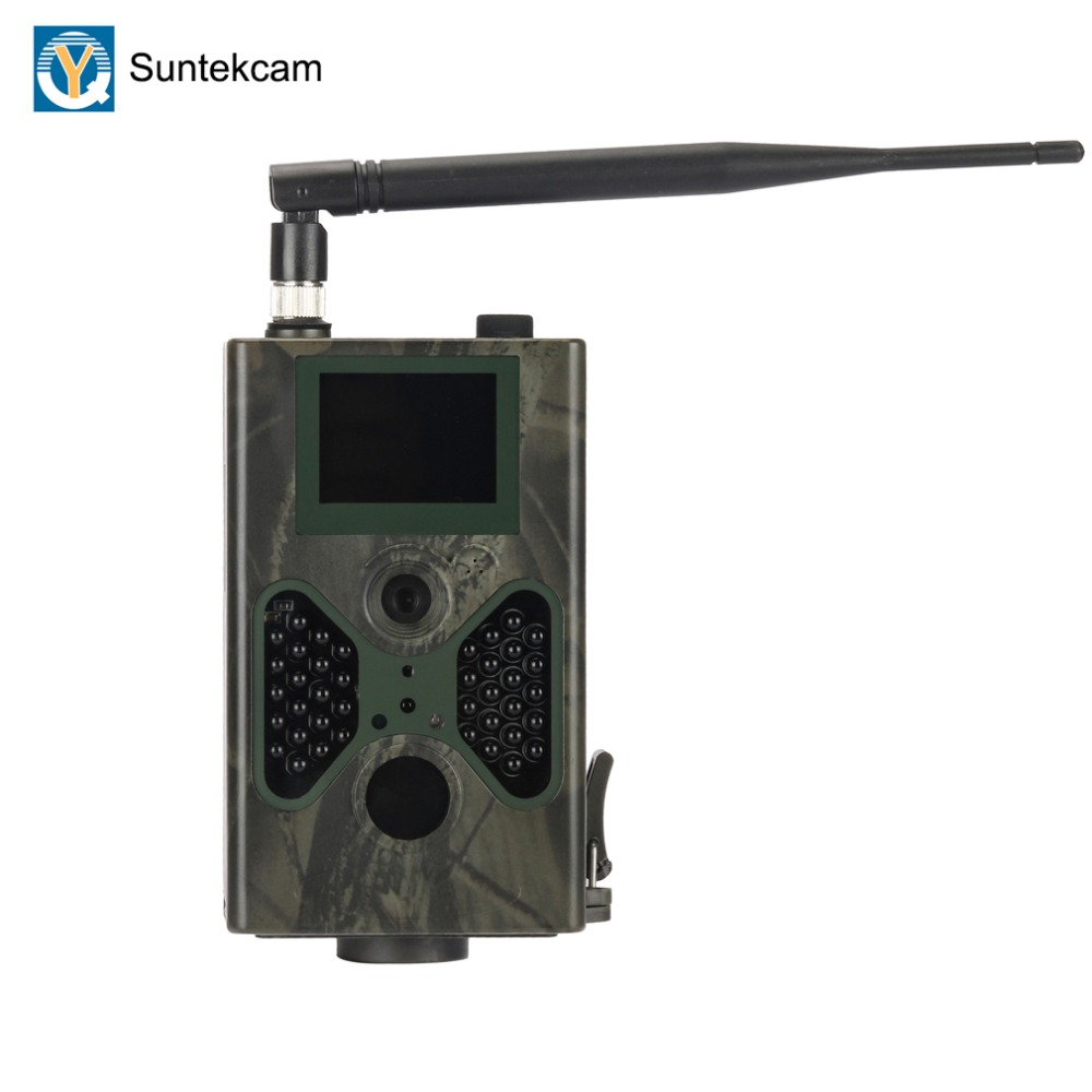 SUNTEKCAM HC-330M 16MP 940nm Night Vision Camera Caça MMS Câmera Trilha GSM SMS GPRS 2G Câmera Armadilha Armadilha Foto câmeras selvagens