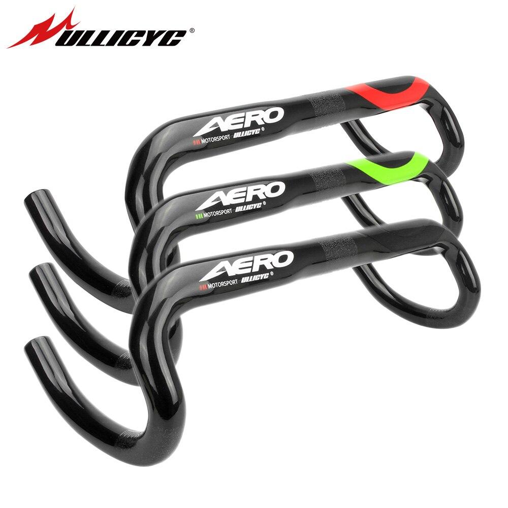 Ullicyc UD carbon road handlebar 3 color bicycles internal handlebar 31 8 400 420 440mm cycling