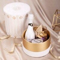 Cocostyles заказ ins превосходное изящной подарочной коробке с шампанским конфеты шоколадные для душа ребенка вечерние события