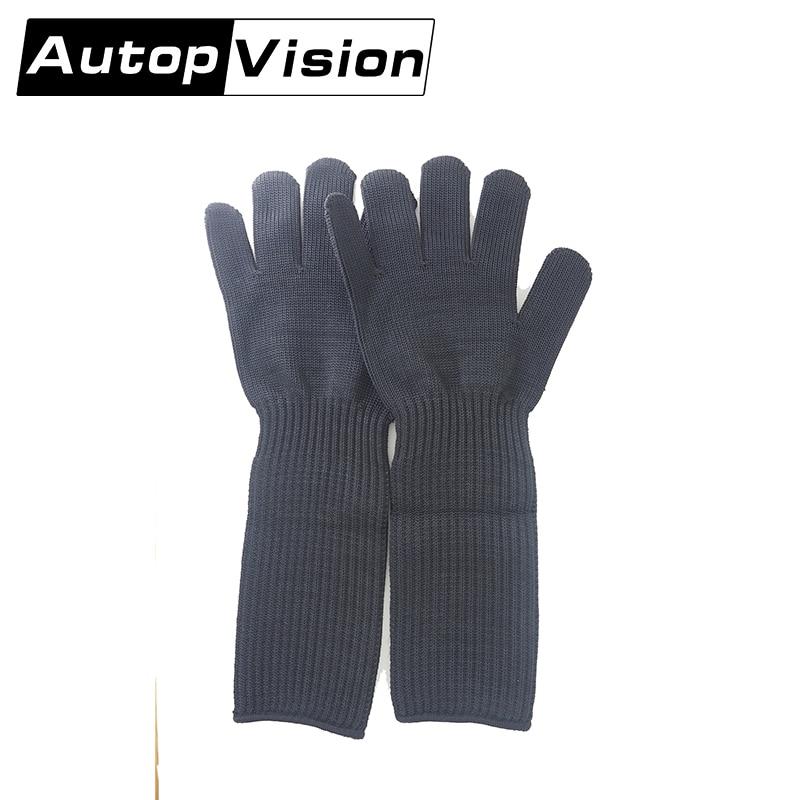 купить FG-STM 5 Pair Cut Resistant Gloves Anti Cutting Protective Gloves   High Performance Level 5 Protection, Food Grade Kitchen недорого