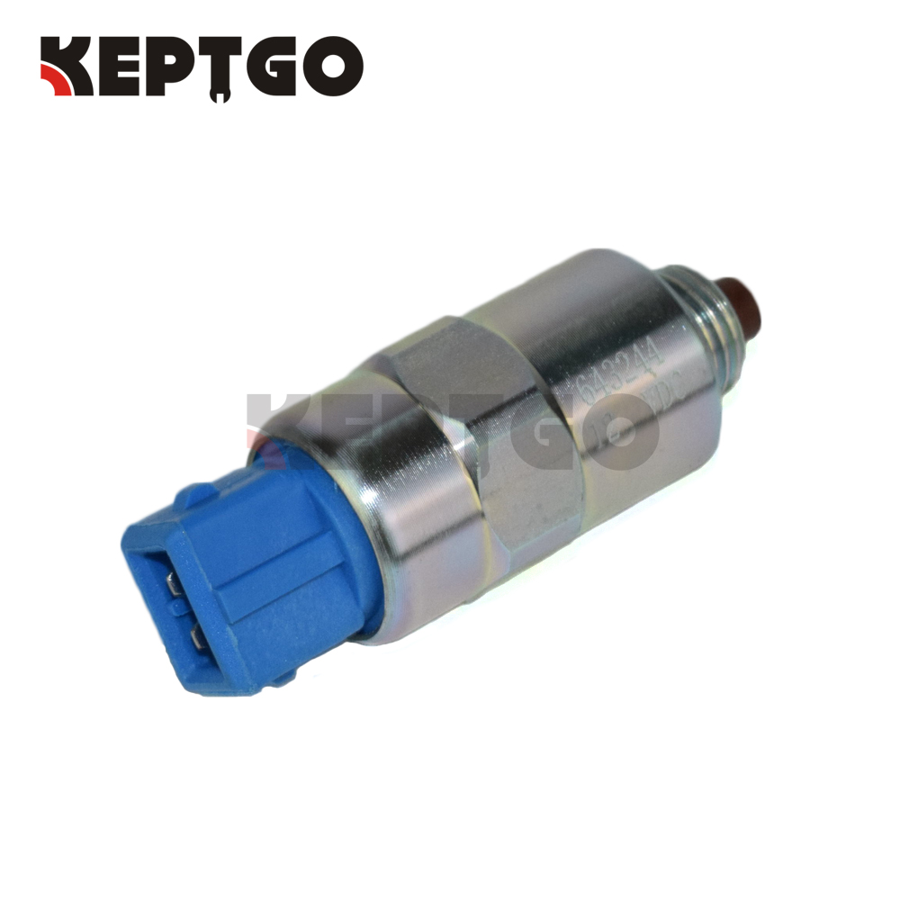 643244 12V 7185-900G Stop Solenoid For JCB Perkins
