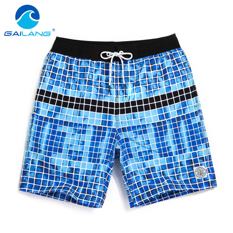 Gailang Brand Men Beach Shorts Board Boxer Trunks Short Bottoms Swimwear Swimsuits Quick Drying Men Boardshorts Big Plus Size Men's Clothing
