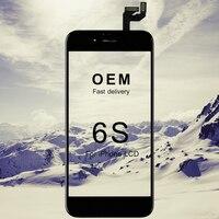 5 stks DHL Gratis Verzending Voor iphone 6 S Lcd-scherm OEM Kwaliteit Zwart Wit Mobiel Touchscreen Vervanging Onderdelen accessoires