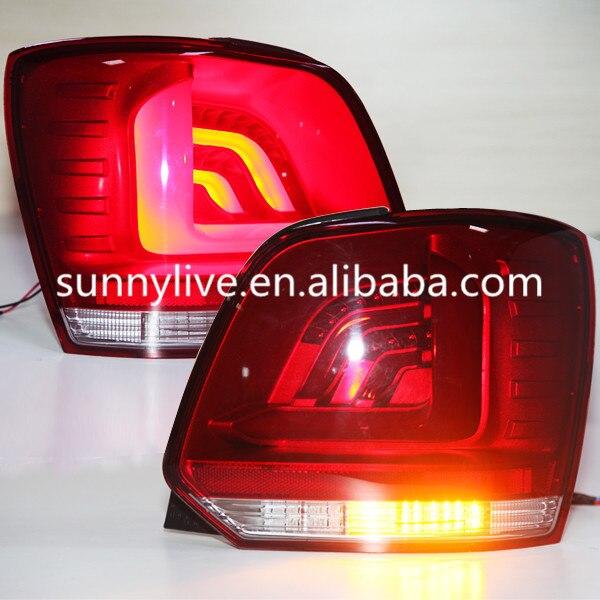 For Volkswagen Polo Mk5 Vento Cross Polo Led Tail Light