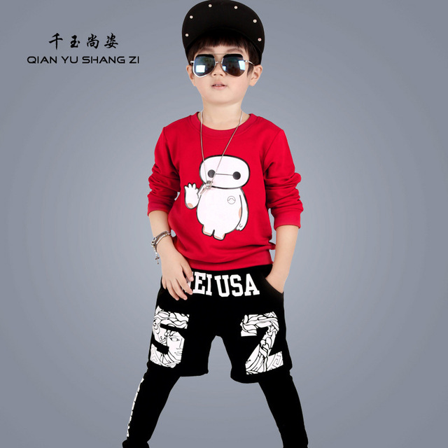 4-13Years Old Children Hoodies Sets Black  Fashion Streetwear Sweatshirts Boys and Girls Cool Sport Hoody Long Sleeves Clothing
